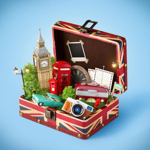 British Suitcase Image