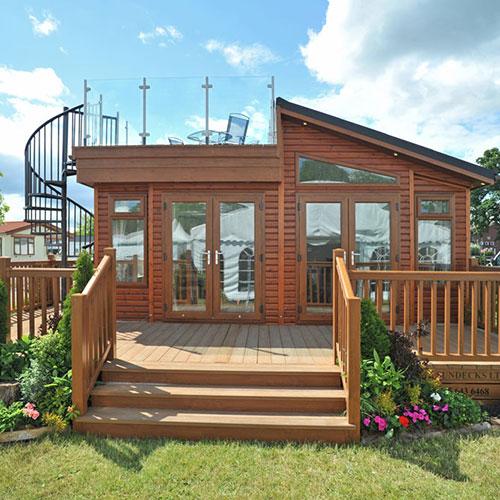 Luxury Holiday Lodge Image