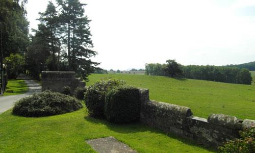 Saltmarshe Castle Park Scene