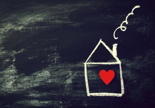 House with Heart in it